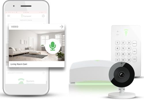 Frontpoint Smart Home Security System and App